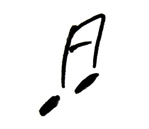 Muzieknoot Da Capo Coaching, Invalshoek muziek